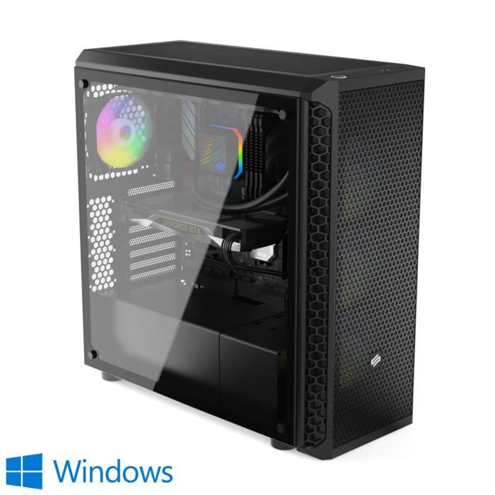 UNITÉ CENTRALE  PC Gamer, Intel i7, RXVega 64, 500Go SSD, 3To HDD,