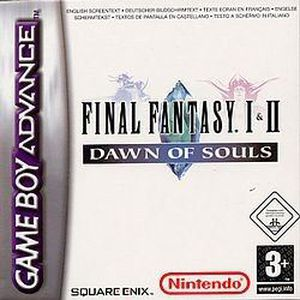 JEU GAME BOY ADVANCE FINAL FANTASY I & II : Dawn of souls