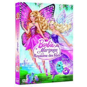 DVD DESSIN ANIMÉ DVD Barbie Mariposa et la princesse des fées