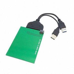 CÂBLE INFORMATIQUE Chenyang USB 3.0 à SATA 22pin 2.5