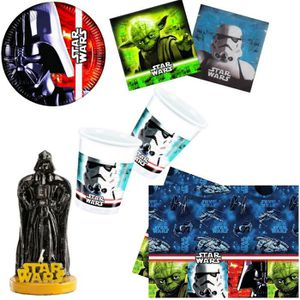 deco anniversaire star wars achat vente deco. Black Bedroom Furniture Sets. Home Design Ideas