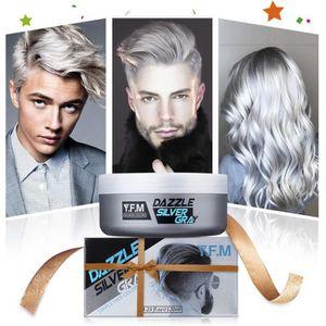 COLORATION Coloration Cheveux Temporaire Y.F.M -Argent Gris S