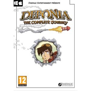 JEU PC Deponia : the complete journey