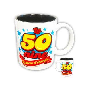 BOL Mug La 50aine Le Plein d'Energie ! - 50 ans Tasse
