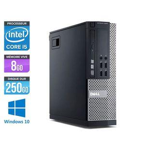 ORDI BUREAU RECONDITIONNÉ Pc de bureau Dell 7010 - Core i5-3470 - 8Go - 250G