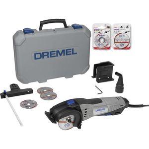 ACCESSOIRE MACHINE Mini-scie + 8 disques à tronçonner Dremel DSM20/3-