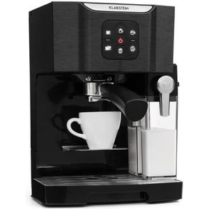 MACHINE À CAFÉ Klarstein BellaVita Machine à café combiné express