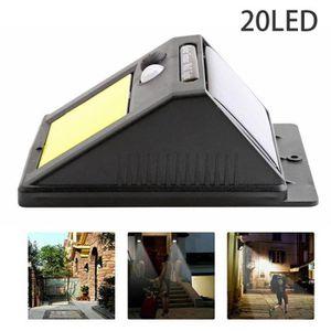 LAMPE DE JARDIN  LEEGOAL 20 LED lampe solaire à induction corps pou