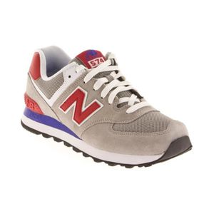 New Balance Bleu Gris Rouge