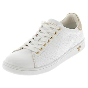 BASKET Chaussures basses toile Super white lady - Guess