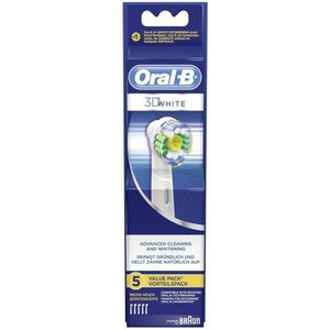 BROSSE A DENTS Braun Oral-B 3D Blanc Brosses à dents électrique r