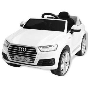 VOITURE ELECTRIQUE ENFANT Voiture électrique Cadeau pour enfants Audi Q7 Bla