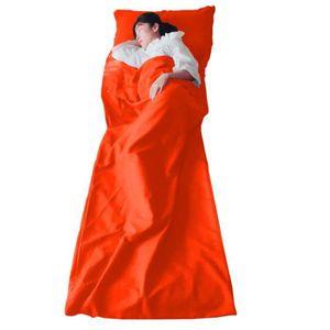 SAC DE COUCHAGE Oreiller de sac de couchage ultra-léger compact po