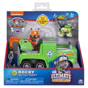 FIGURINE - PERSONNAGE PAT PATROUILLE Vehicule + figurine ultimate rescue