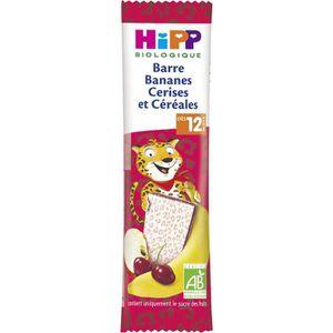 CÉRÉALES BÉBÉ HIPP BIOLOGIQUE Mon goûter plaisir Barre bananes c