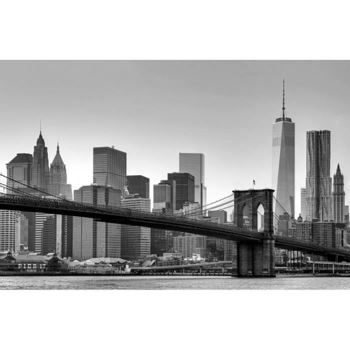 poster xxl giant art new york photo photo murale poster grand format 175x115 cm ville. Black Bedroom Furniture Sets. Home Design Ideas