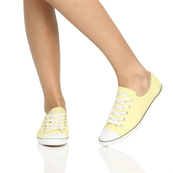 CONVERSE Baskets Ws All Star Light Femme Jaune poussin et ...