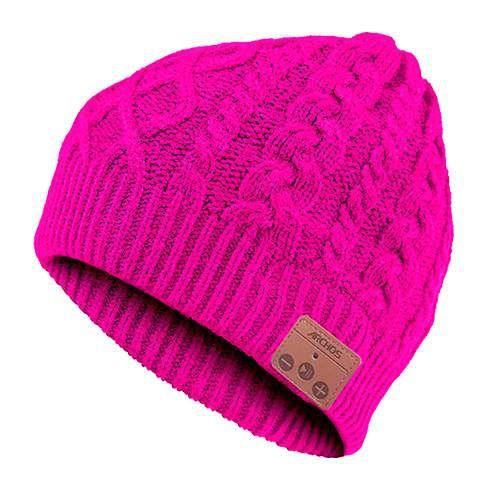 ARCHOS Casque Music Beany - Bonnet - Sans fil - Bluetooth - Rose