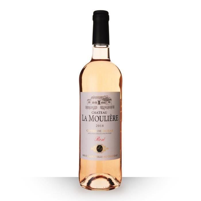 Château la Moulière 2018 AOC Côtes de Duras - 75cl - Vin Rosé