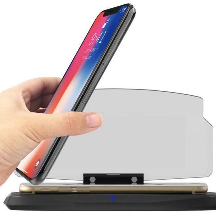 Universal HUD Head Up Display GPS Support Voiture pour Smart Phones Téléphone Mobile Navigation Supports de GPS l'Image Réflecteur