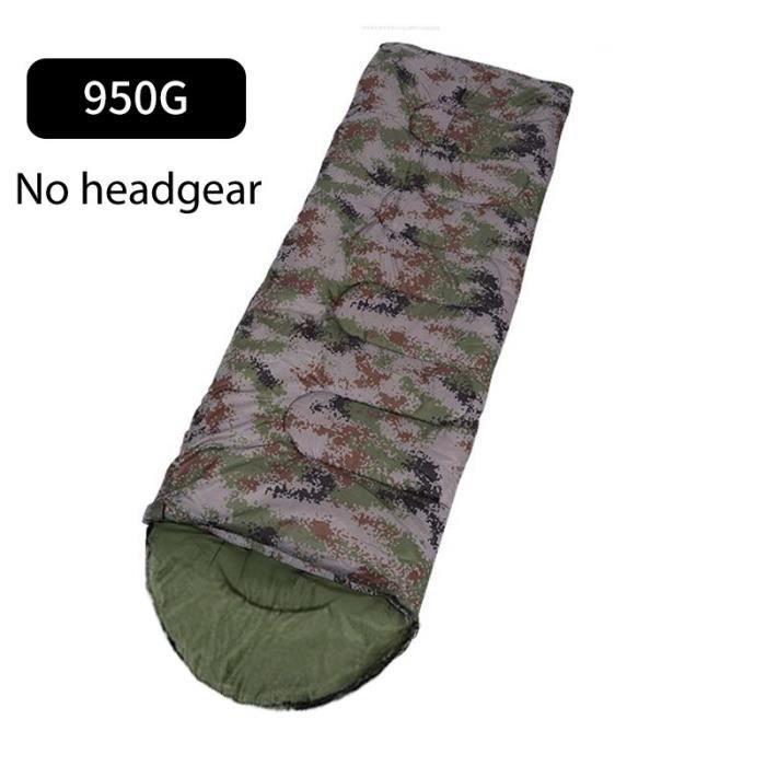 Sac de couchage de Camping en coton, Style enveloppe, militaire, Camouflage, pour l'extérieur, chaud, voyage, randonnée, [8D75536]