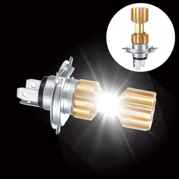 Phare de moto H4 Led 12V 3400lm, ampoules de tête de moto 6500k, lumière blanche super brillante, accessoires 1PCS -WM2653