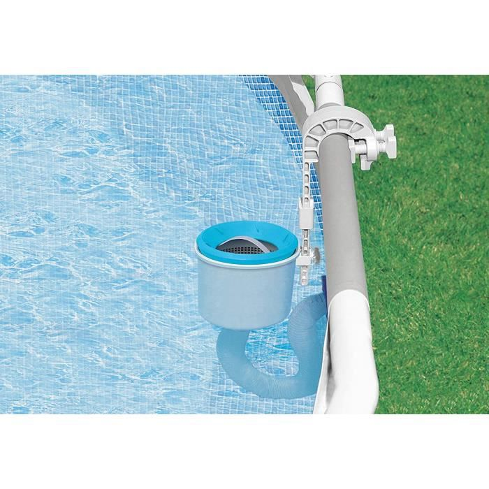 skimmer de surface deluxe pour piscine