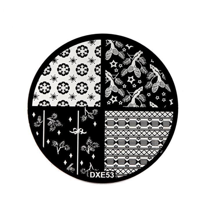 XY Nail Art Stamping Plaques image Stamp Modèle manucure bricolage Décor Outil bricolage YT6260 - XYBGY1113B1608