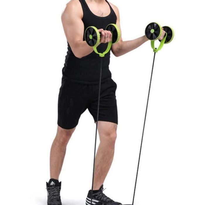 Appareil Abdominaux AB Roller Rouleau Roue AB Fitness Exercices Abdominaux