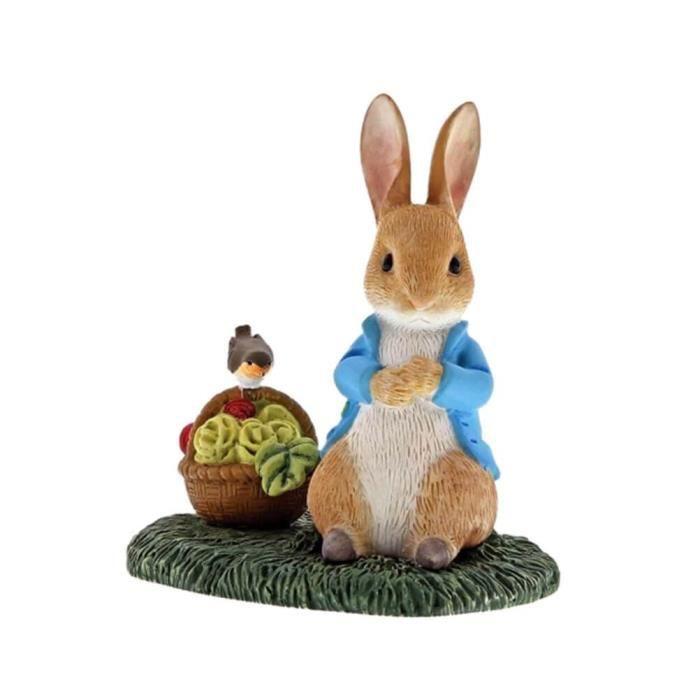 Beatrix Potter Peter Rabbit avec Figurine Miniature