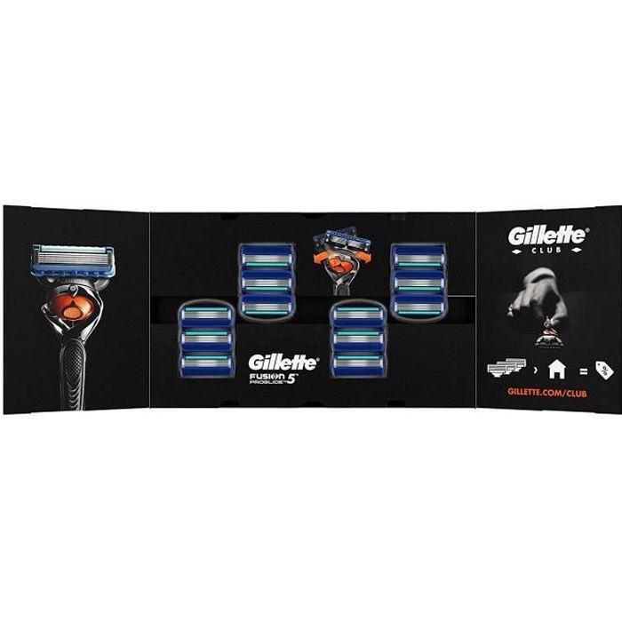 Gillette Fusion5 ProGlide Lot de 16 tête Lames De Rasoir Pour Homme, lame de rasoir vendue seule