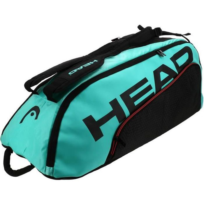 Sac raquette de tennis Tour team 9r supercombi noir vert - Head UNI Noir