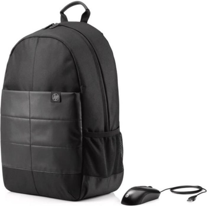 HP Sac à dos PC Portable Classic Backpack 1FK05AA - 15,6\