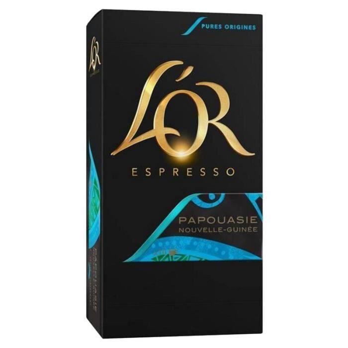 L'OR - L'OR Espresso Papouasie (lot de 40 capsules)