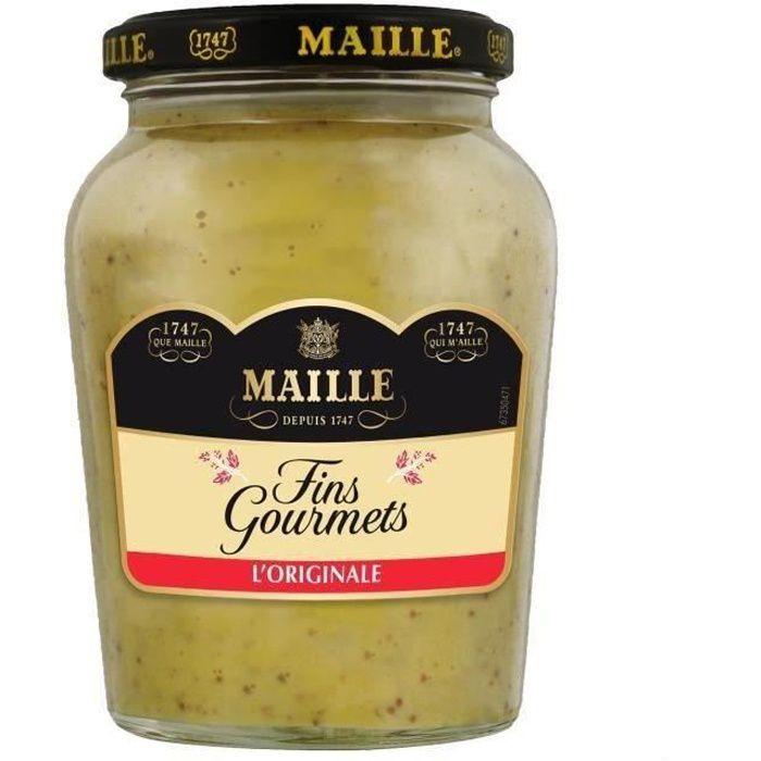 MAILLE Spécialité Moutarde Fins Gourmets Bocal - 340 g