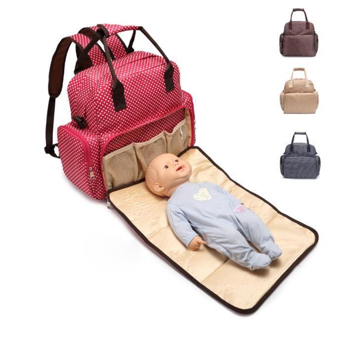 Sac à Langer Bébé Confort Pour Maman Imperméable Chic Avec Plusieurs Usages Super Grand 4 Méthode à Porter Pour Promenade Vacance