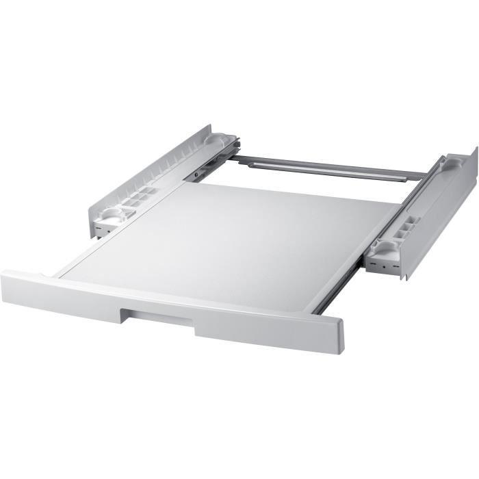 SAMSUNG SKK-DD-Kit de superposition pour sèche linge et lave linge-Plateau coulissant-Installation rapide-Superposition sécurisée