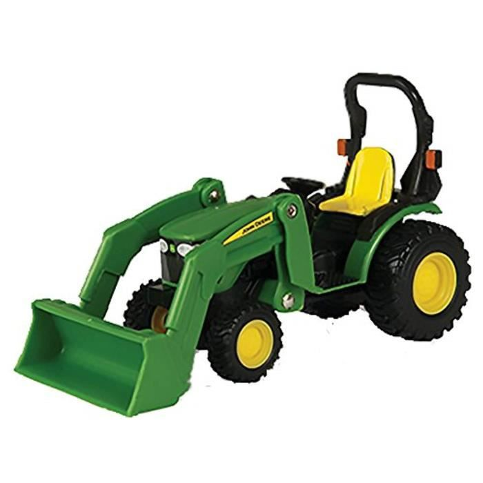 Voiture Electrique TOMY FW4FK John Deere Tractor with Loader 1-32 Scale