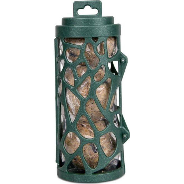 Distributeur recyclé avec Boule de graisse 17 cm. pour oiseaux-Vadigran 20