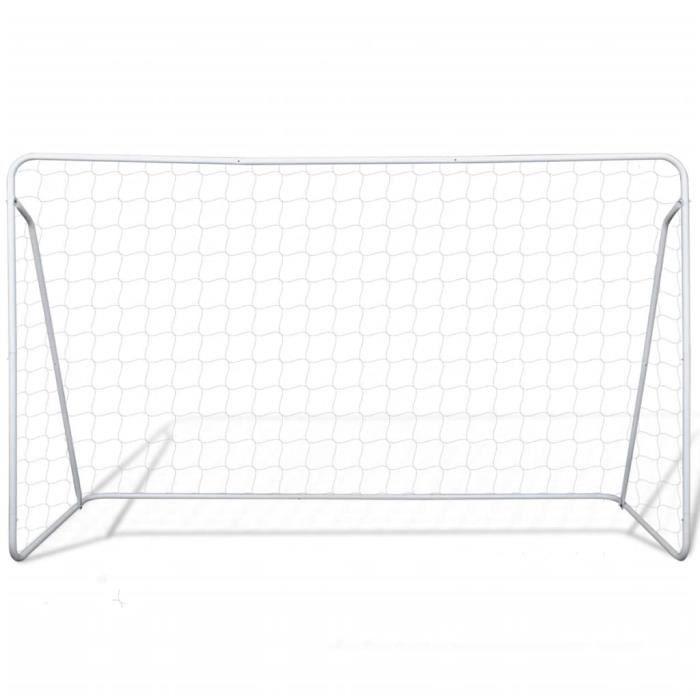 Cage de but de football But De Foot 240 x 90 x 150 cm Acier ABI7