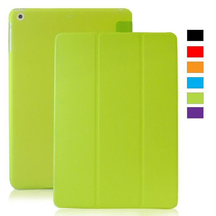 coque ipad mini 1 2 3 retina khomo clair vert prix pas cher cdiscount. Black Bedroom Furniture Sets. Home Design Ideas