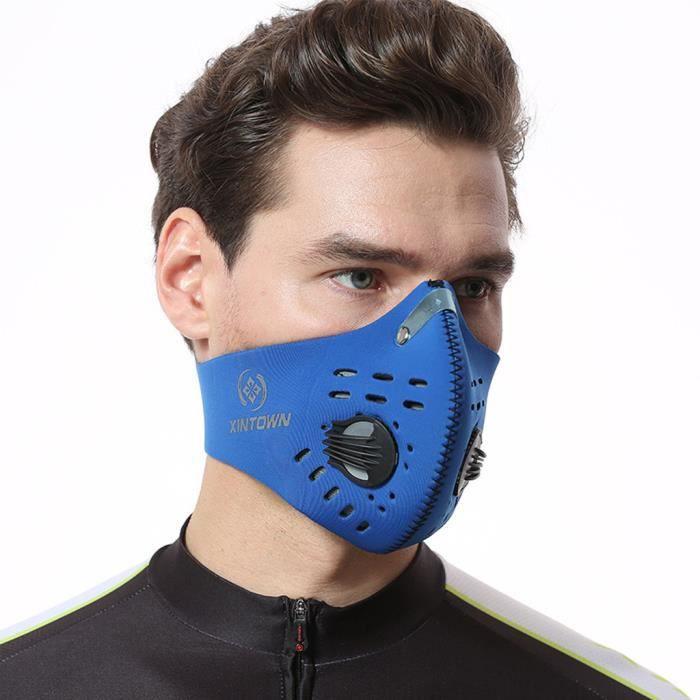 masque charbon actif anti poussiere