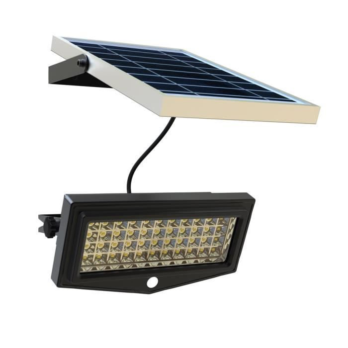 Projecteur solaire lampe jardin led lumi re mur ext rieure for Lumiere de jardin led