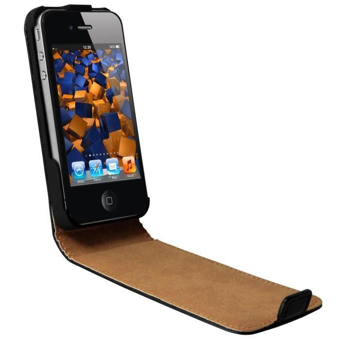 Coque iphone 4 a clapet - Cdiscount