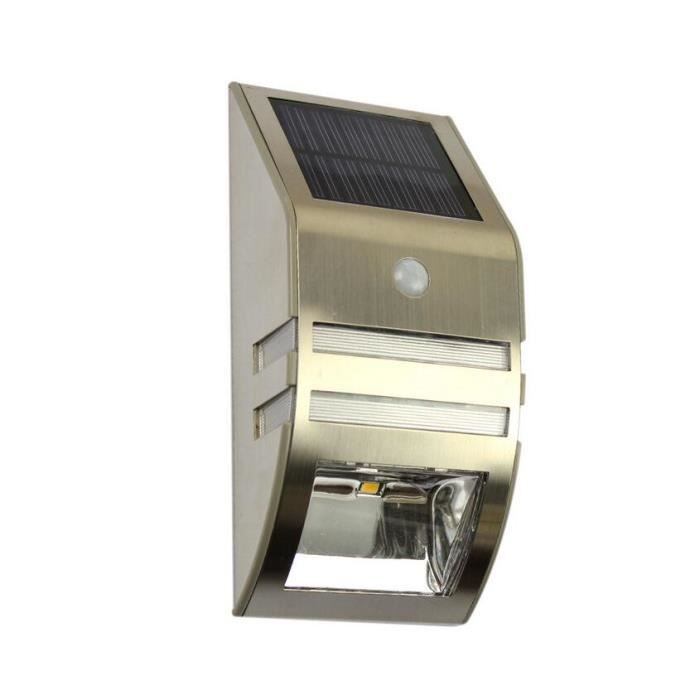 Solar powered led lampe exterieure solaire lampes for Lampe led exterieure