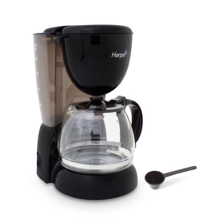 CAFETIÈRE HARPER PERCO1 Cafetière filtre - Noir
