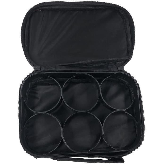 TOFERN Lot de 2 Sacoche Trousse Jeu de Boules Nylon Oxford Robuste Pratique Sac /à Main P/étanque Sans Boules Adaptation 3//6 8 Boules