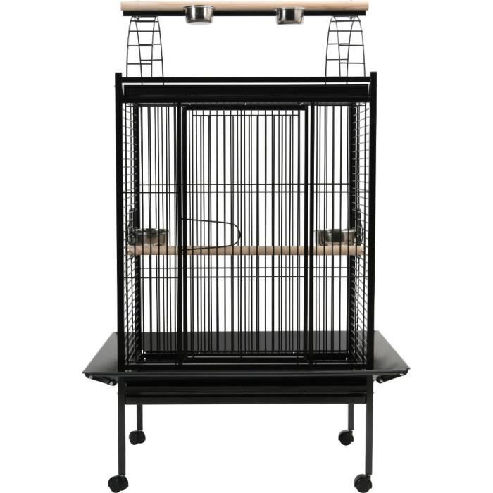 cage pour perroquet america en m tal 96x77x151cm achat vente voli re cage oiseau cage pour. Black Bedroom Furniture Sets. Home Design Ideas