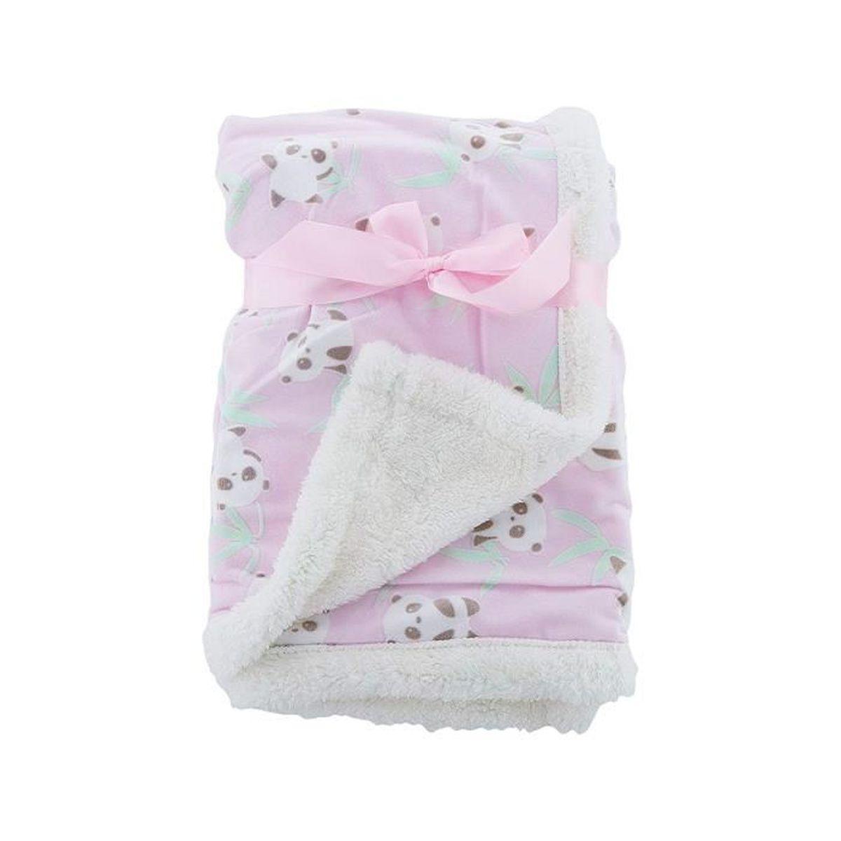 First Steps Couverture en polaire douce lavable pour b/éb/é 70/x 70/cm /à partir de 0 mois 2 x Blankets blanc bleu//rose//blanc