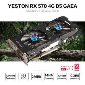 CARTE GRAPHIQUE INTERNE Carte graphique de jeu vidéo Yeston Radeon RX570 4